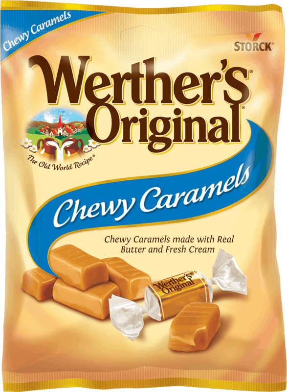 $0.75 for Werther's Original Caramels (expiring on Monday, 12/14/2020). Offer available at Target, Target Online.
