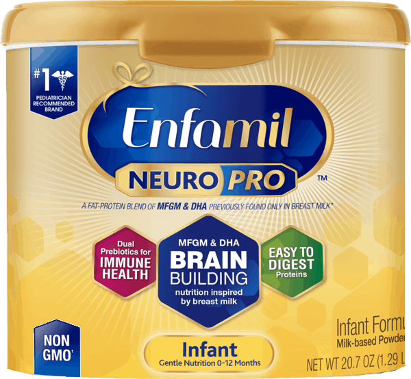 $5.00 for Enfamil® NeuroPro™ Infant Formula Tubs (expiring on Saturday, 12/29/2018). Offer available at Target.