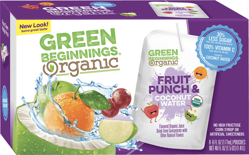 $1.00 for Green Beginnings (expiring on Thursday, 04/02/2020). Offer available at Walmart, H-E-B, Wegmans.