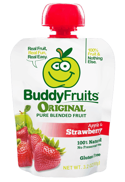 $0.30 for Buddy Fruits® Pouches (expiring on Wednesday, 05/02/2018). Offer available at multiple stores.