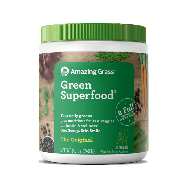 $0.75 for Amazing Grass Green Superfood (expiring on Saturday, 10/31/2020). Offer available at multiple stores.