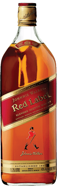 $5.00 for JOHNNIE WALKER RED LABEL Blended Scotch Whisky. Offer available at multiple stores.