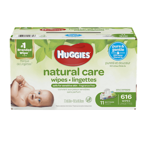 $0.50 for Huggies®Baby Wipes (expiring on Friday, 08/02/2019). Offer available at Walmart.