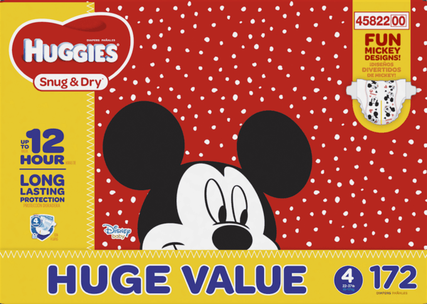 $1.00 for HUGGIES OverNites Diapers (expiring on Monday, 01/15/2018). Offer available at Walmart.