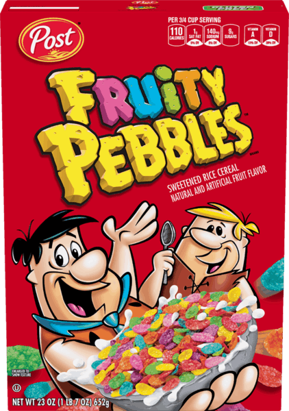$0.25 for Fruity Pebbles™. Offer available at multiple stores.