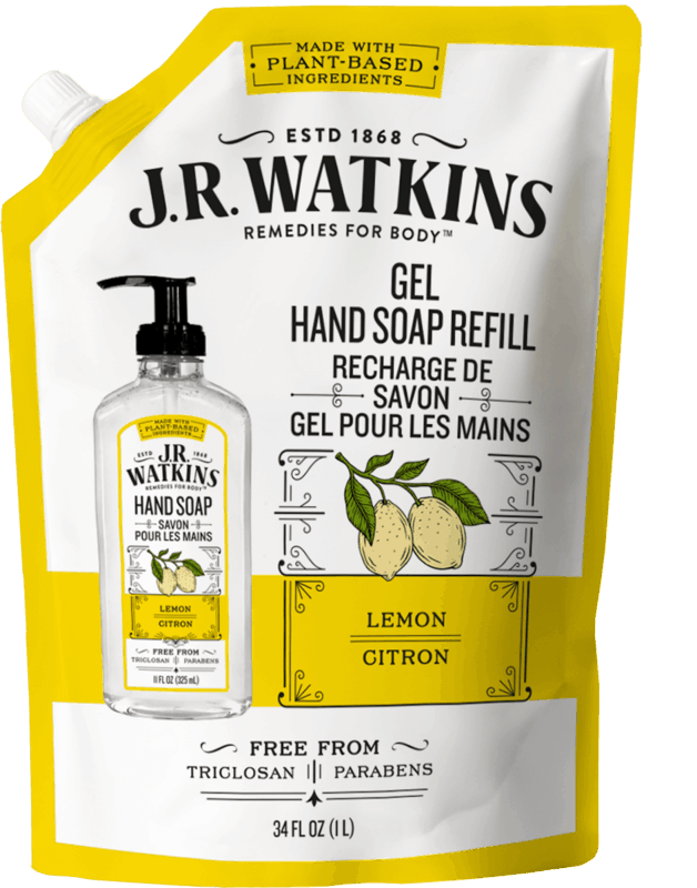 $1.50 for J.R. Watkins Hand Soap Refill Pouch (expiring on Tuesday, 04/28/2020). Offer available at multiple stores.