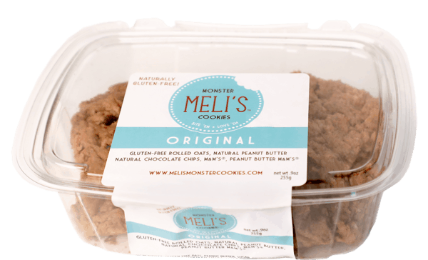 $1.00 for Meli's™ Monster Pre-Baked Cookies (expiring on Saturday, 01/06/2018). Offer available at Walmart, H-E-B, United Supermarkets, Market Street.