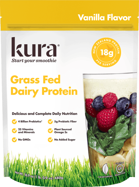 $6.00 for Kura® Protein Smoothie Powder. Offer available at Walmart, CVS Pharmacy, Whole Foods Market®, Vitamin Shoppe.