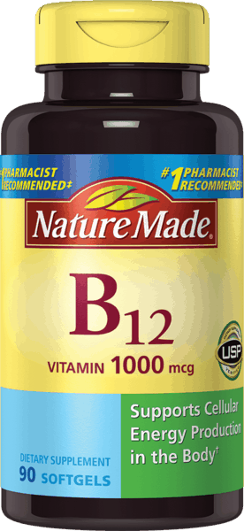 $1.50 for Nature Made® Vitamin B12 (expiring on Monday, 04/02/2018). Offer available at multiple stores.