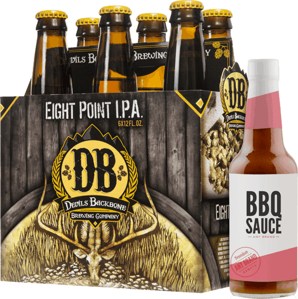 $2.00 for Devils Backbone® and Meat or BBQ Sauce (expiring on Wednesday, 05/09/2018). Offer available at multiple stores.