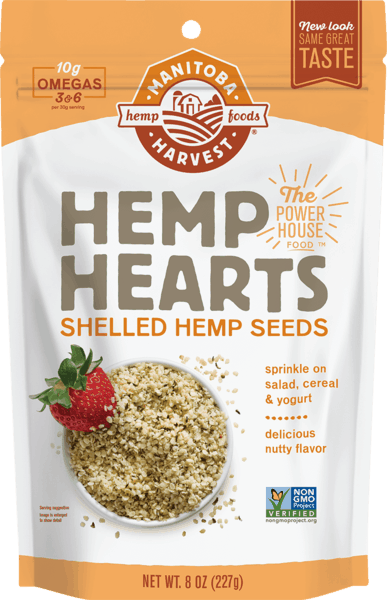 $1.50 for Manitoba Harvest® Hemp Hearts (expiring on Sunday, 09/02/2018). Offer available at Costco, Whole Foods Market®, Sprouts Farmers Market, Vitamin Shoppe.