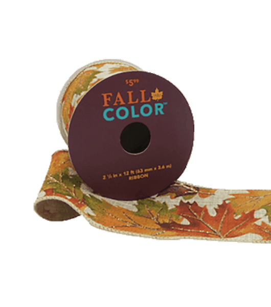 $1.00 for Fall Into Color Ribbons. Offer available at JOANN .