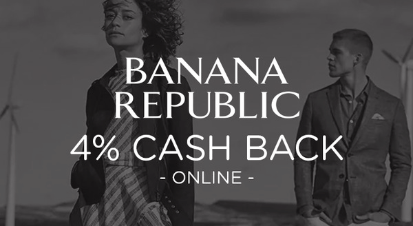 $0.00 for Banana Republic (expiring on Wednesday, 08/22/2018). Offer available at Banana Republic.