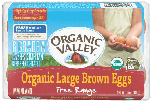 $0.75 for Organic Valley®Eggs (expiring on Saturday, 06/02/2018). Offer available at multiple stores.