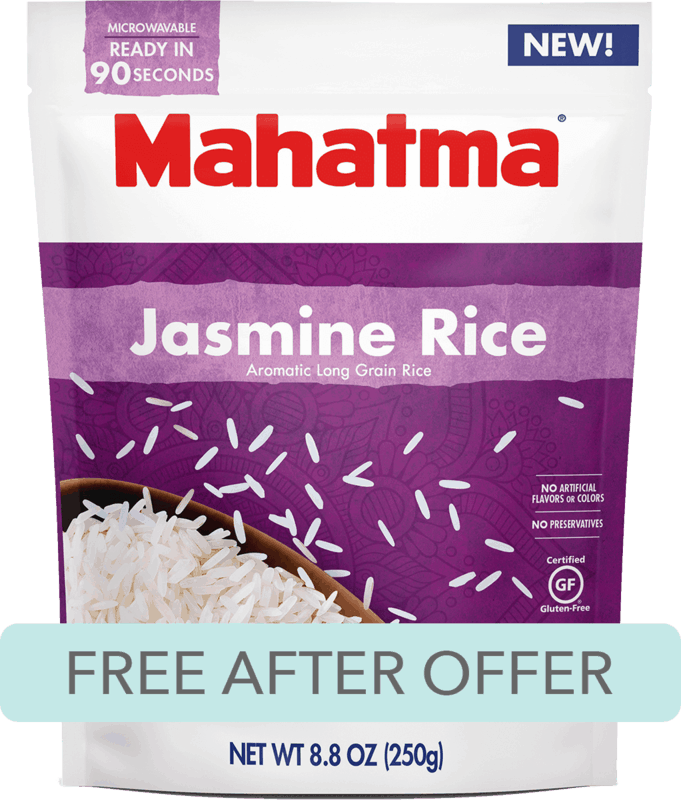 $1.88 for Riviana® Mahatma® Ready to Serve Rice. Offer available at Walmart.
