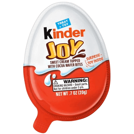 $0.50 for Kinder Joy. Offer available at multiple stores.