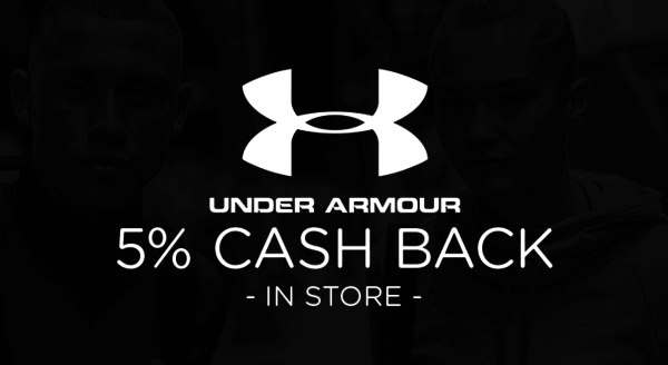 $0.00 for Under Armour (expiring on Thursday, 07/02/2020). Offer available at Under Armour.