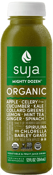 $0.75 for Suja® Juice (expiring on Monday, 09/02/2019). Offer available at multiple stores.