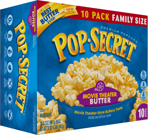 $0.75 for Pop Secret® Popcorn (expiring on Thursday, 08/02/2018). Offer available at multiple stores.
