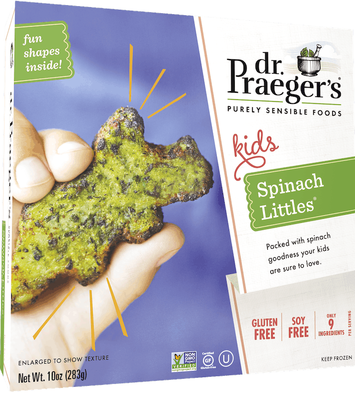 $1.25 for Dr. Praeger's Littles (expiring on Sunday, 12/20/2020). Offer available at multiple stores.