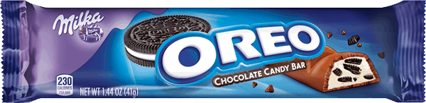 $0.40 for MILKA OREO Chocolate Candy Bars (expiring on Tuesday, 08/08/2017). Offer available at multiple stores.
