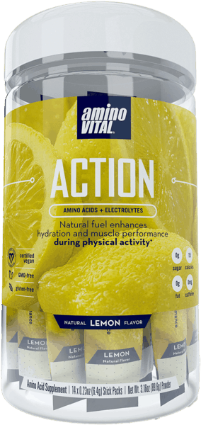 $2.50 for Amino Vital® ACTION™ Lemon Drink Mix. Offer available at Giant Eagle.