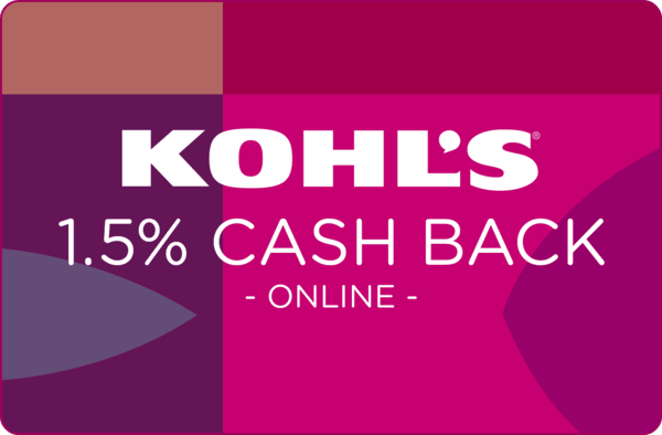 $0.00 for Kohl's (expiring on Sunday, 09/30/2018). Offer available at Kohls.com.