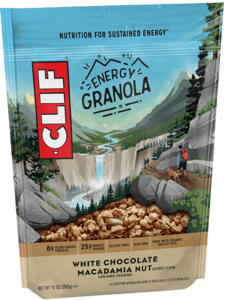 $1.25 for CLIF® ENERGY GRANOLA. Offer available at Walmart.