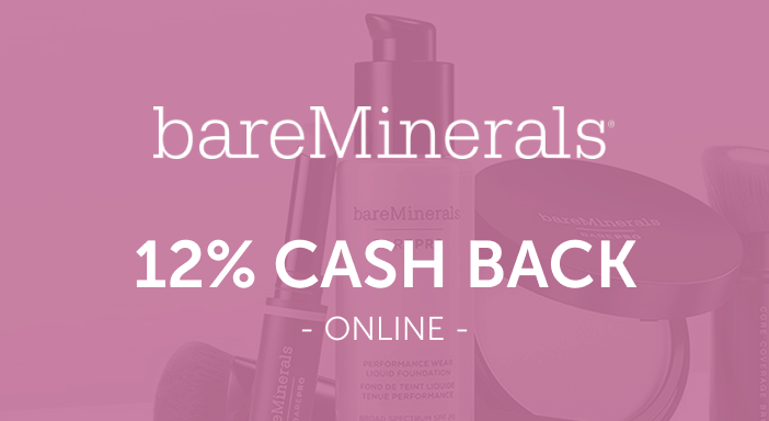 $0.00 for bareMinerals (expiring on Monday, 04/19/2021). Offer available at bareMinerals.