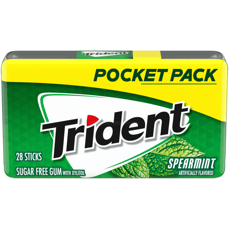 $1.00 for Trident Pocket Packs (expiring on Friday, 04/30/2021). Offer available at Walmart, Walmart Grocery.