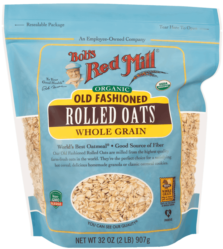 $1.00 for Bob's Red Mill Old Fashioned Rolled Oats (expiring on Saturday, 10/31/2020). Offer available at Walmart, Walmart Grocery.