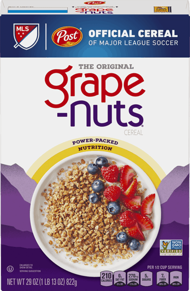 $0.25 for Grape Nuts® (expiring on Tuesday, 04/02/2019). Offer available at multiple stores.