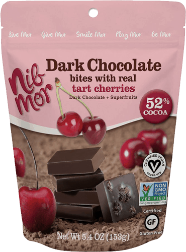 $0.75 for NibMor® Dark Chocolate Bites (expiring on Monday, 12/25/2017). Offer available at DeMoulas Market Basket.