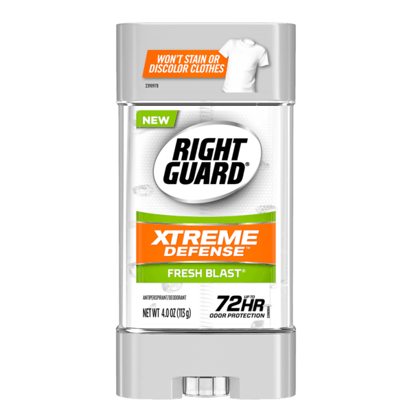 $1.00 for Right Guard® Sport or Xtreme Defense™ Antiperspirant/Deodorant. Offer available at Walmart.