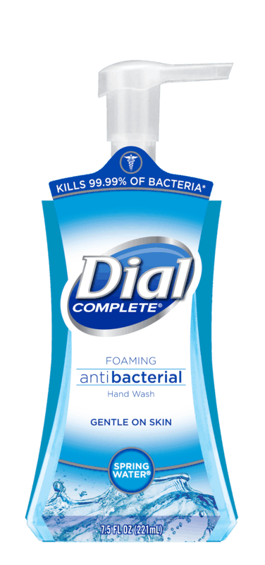 $0.75 for Dial Antibacterial Liquid or Foaming Hand Soap (expiring on Sunday, 08/02/2020). Offer available at Walmart.