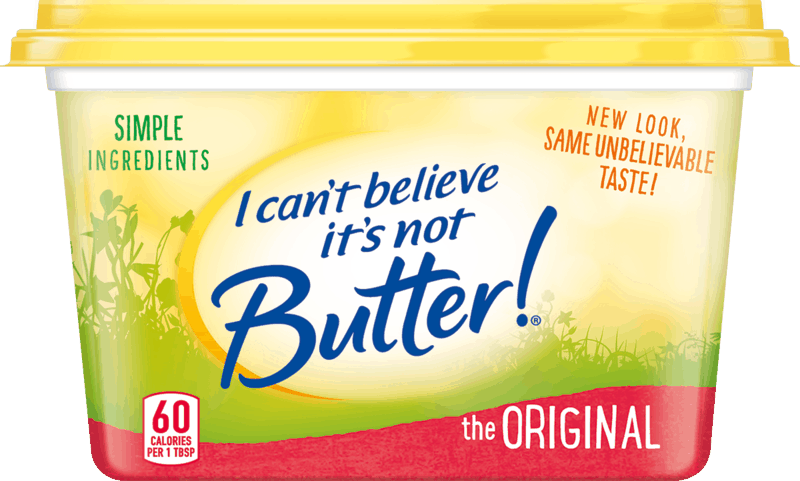 $1.00 for I Can't Believe It's Not Butter!®. Offer available at Walmart.