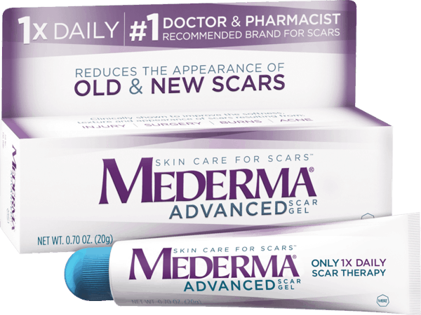 $3.00 for Mederma® Advanced Scar Gel. Offer available at Target, Walmart, Walgreens, CVS Pharmacy, Rite Aid.