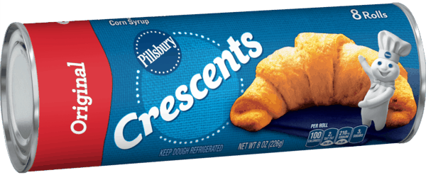 $0.40 for Pillsbury™ Crescents (expiring on Monday, 02/05/2018). Offer available at Walmart.