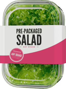 $0.25 for Pre-Packaged Salad - Any Brand. Offer available at multiple stores.