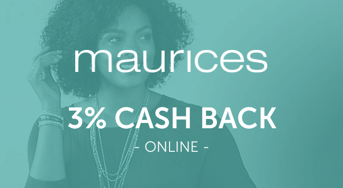$0.00 for maurices.com (expiring on Monday, 05/31/2021). Offer available at maurices.com.