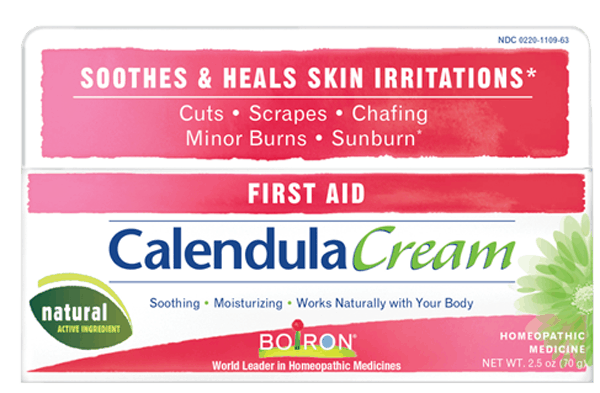 $2.00 for Boiron® Calendula Cream (expiring on Wednesday, 08/01/2018). Offer available at CVS Pharmacy, Rite Aid, Meijer.