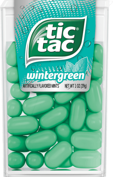 $0.50 for Tic Tac® Mints. Offer available at Walmart.