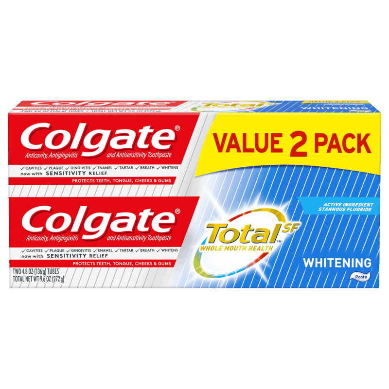 $1.00 for Colgate TotalSF Toothpaste. Offer available at Target, Target Online.