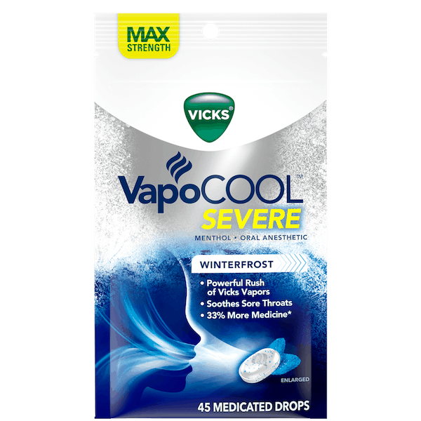 $1.00 for Vicks® VapoCOOL™ Drops. Offer available at Walmart.
