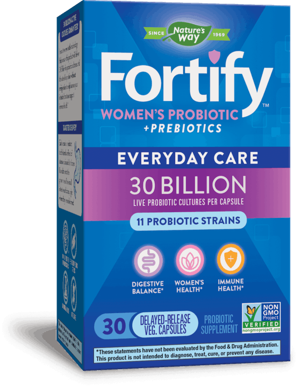 $2.00 for Fortify™ Probiotics. Offer available at Walmart, Walgreens, Whole Foods Market®.