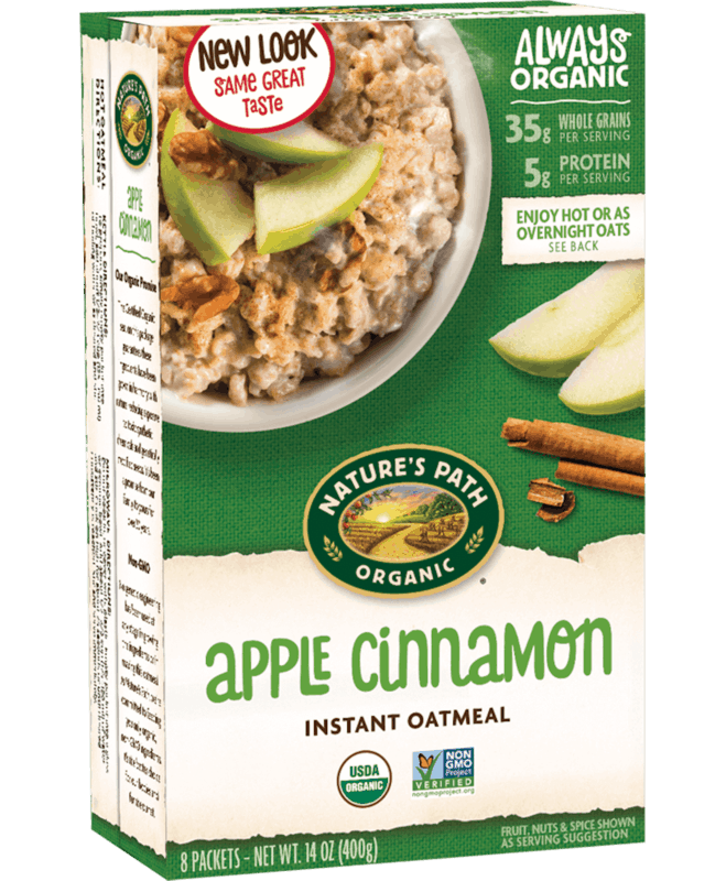 $1.00 for Nature's Path Instant Oatmeal (expiring on Monday, 06/22/2020). Offer available at Walmart, Walmart Grocery.