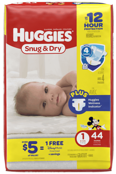 $2.00 for Huggies® Diapers Jumbo (expiring on Sunday, 12/31/2017). Offer available at multiple stores.