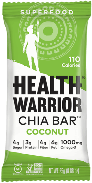$0.50 for Health Warrior Single Chia Bar (expiring on Wednesday, 01/02/2019). Offer available at multiple stores.
