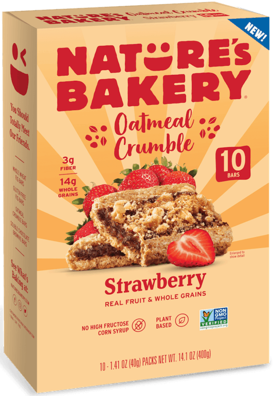 $1.50 for Nature's Bakery Oatmeal Crumble. Offer available at Walmart.