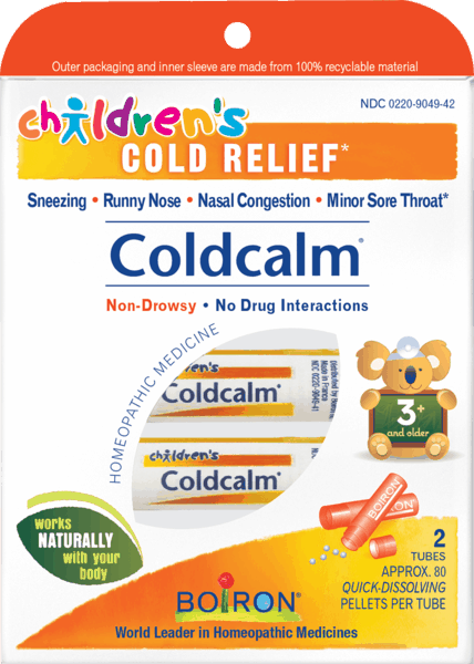 $1.00 for Boiron® Children's Coldcalm® Pellets (expiring on Wednesday, 08/01/2018). Offer available at Walgreens, Wegmans, Whole Foods Market®, Sprouts Farmers Market, Vitamin Shoppe.